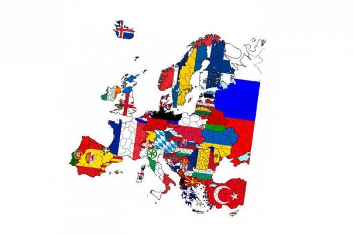 Ilustračný obrázok ku kvízu Európske vlajky