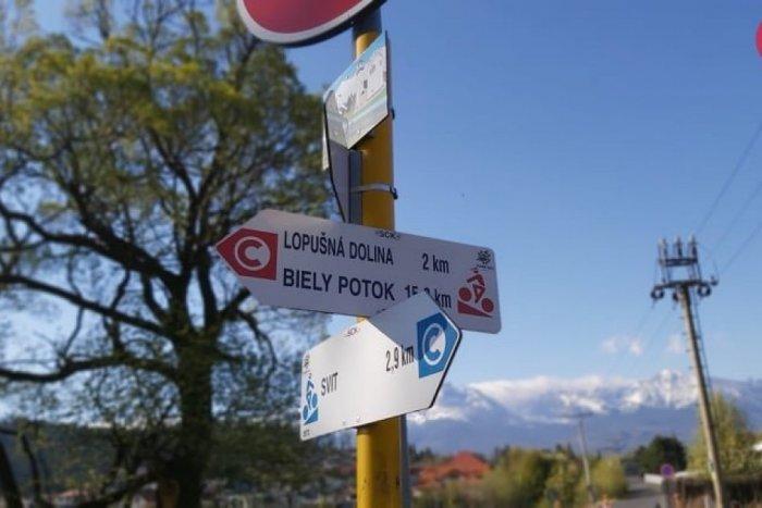 Ilustračný obrázok ku kvízu Letný kvíz o cyklotrasách okolia Popradu: Máte prejazdené tieto miesta?