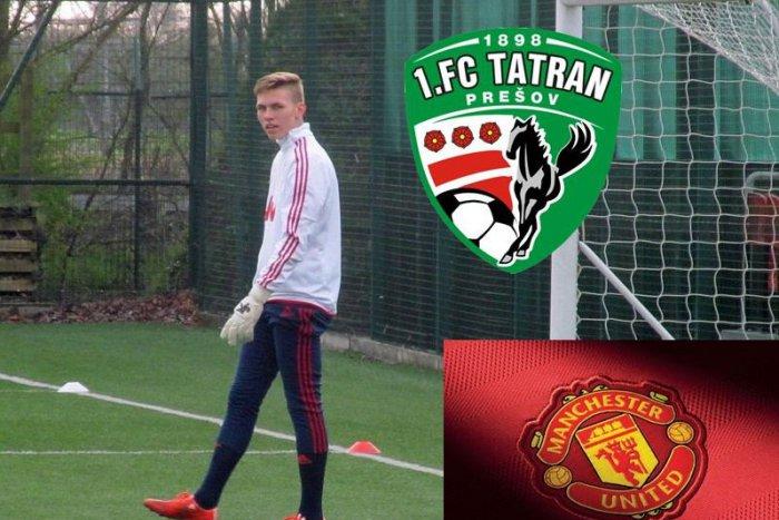 7a4fd37501986 Dotkne sa futbalových bohov! Veľký talent z Prešova prestupuje do Manchestru  United   Dnes24.sk