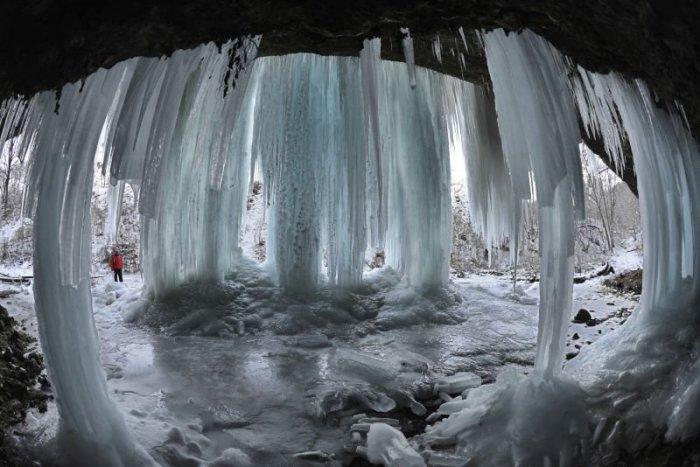 Ľadopád Šikľavá skala : zdroj TASR