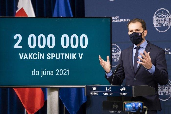 O Sputnik nie je záujem: HLUPÁCI, odkazuje ľuďom Matovič. Sulík hovorí o BLAMÁŽI